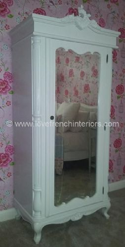 Rochelle Mirrored Cabinet or Armoire